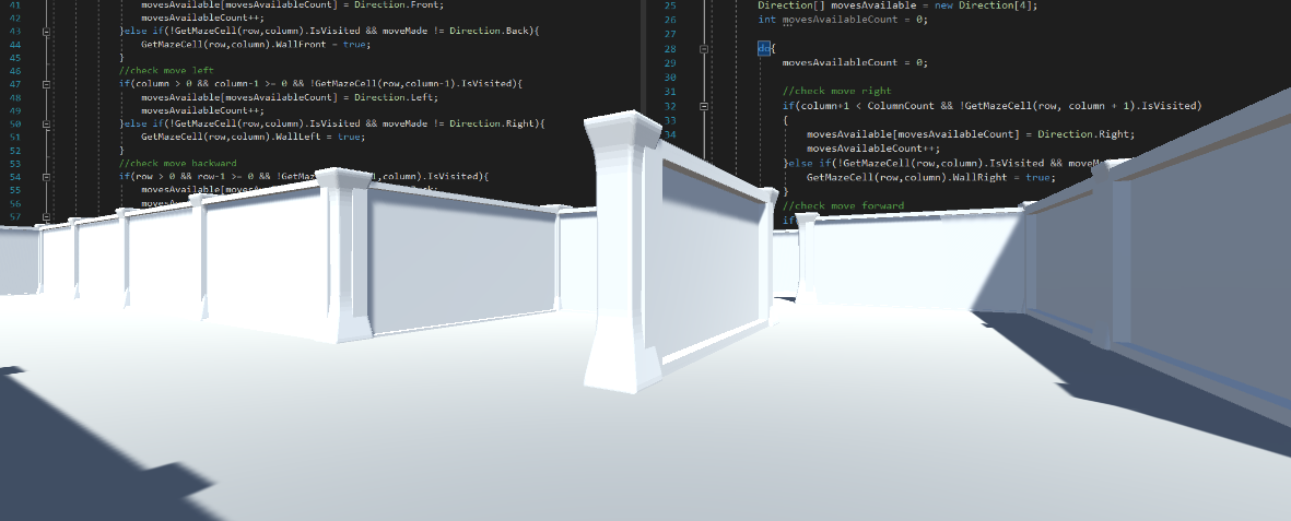 Procedural Maze Creation in C# and Unity – Part 2